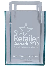 """Luxury retailer of the year"" at the Star Retailer Awards 2013"